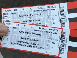 JETS VS BROWNS @FIRST ENERGY STADIUM CLEVELAND OHIO 9-20-2018 13