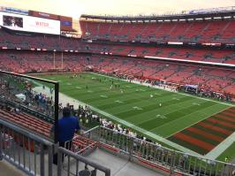 JETS VS BROWNS @FIRST ENERGY STADIUM CLEVELAND OHIO 9-20-2018 17