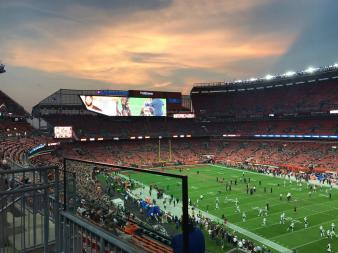 JETS VS BROWNS @FIRST ENERGY STADIUM CLEVELAND OHIO 9-20-2018 20
