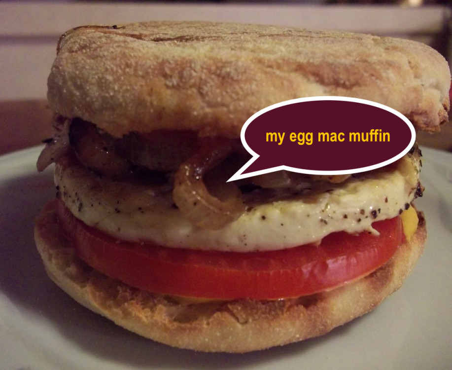 MY EGG MAC MUFFIN