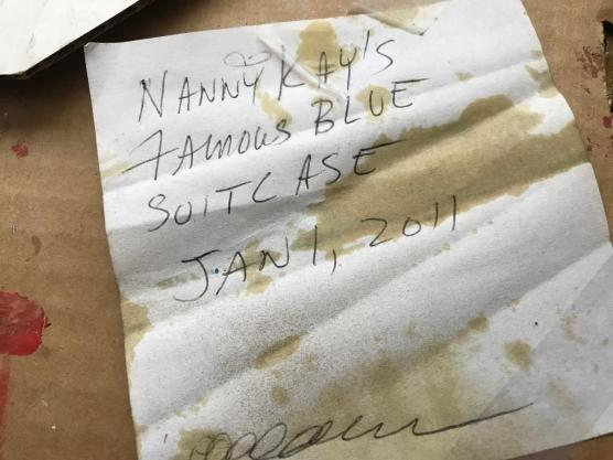 nany kay's famous blue suitcase 17